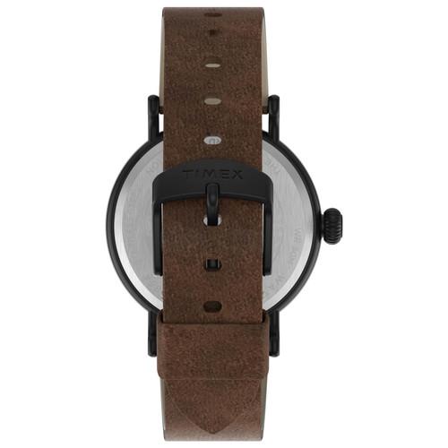 Timex Standard 40mm Black Brown