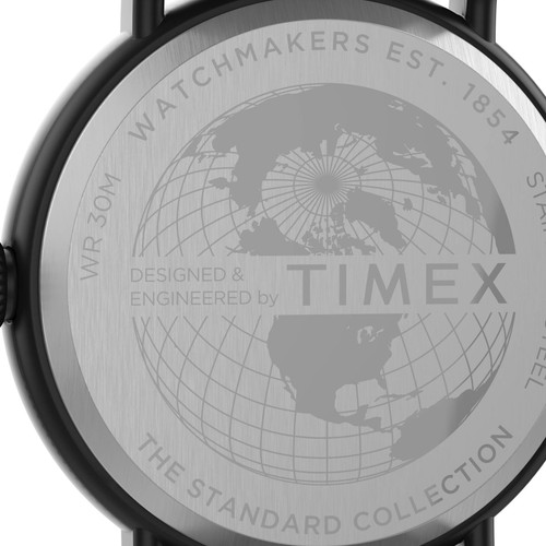 Timex Standard 40mm Black Brown (TW2T69300)