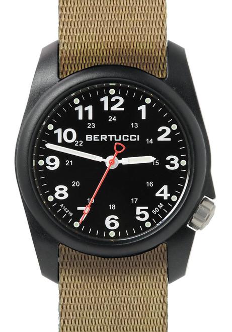 Bertucci A-1R Field Comfort Black Tan (10502)