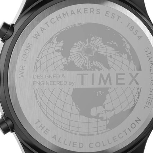 Timex Allied LT Chronograph 42mmGunmetal Blue