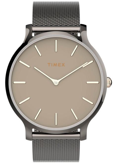 Timex Transcend 38mm Gunmetal Mesh (TW2T74000)