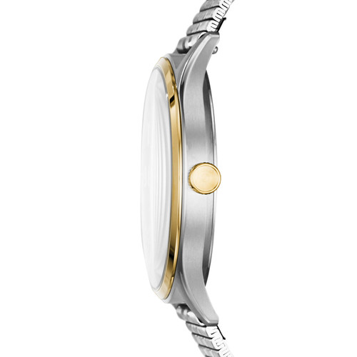 Fossil FS5596 Forrester Emerald Gold Silver SS (FS5596)