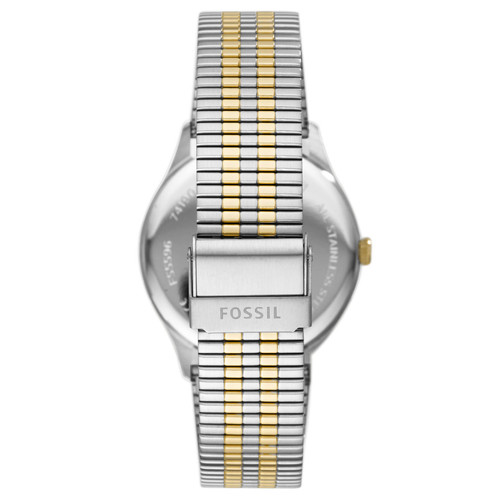 Fossil FS5596 Forrester Emerald Gold Silver SS
