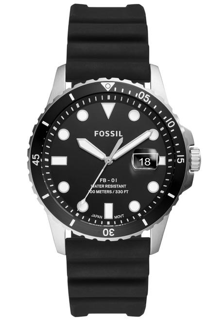 Fossil FS5660 FB-01 Black Silver (FS5660)