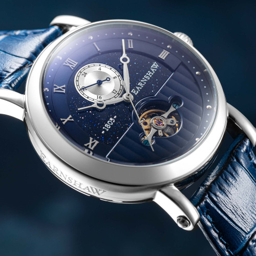 Thomas Earnshaw Maskelyne Celestial Automatic Blue (ES-8114-03)