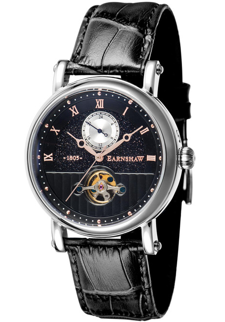 Thomas Earnshaw Maskelyne Celestial Automatic Black Silver (ES-8114-04)