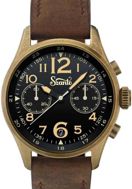 Szanto Desert Sands Chronograph Antique Bronze Black Brown (SZ4511)
