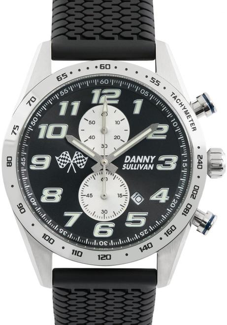 Szanto ICON Signature Danny Sullivan Chronograph Silver Black (ICDS3209)