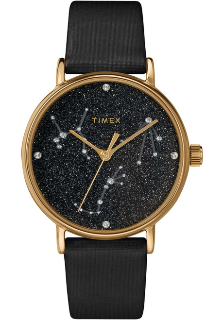 Timex Celestial Opulence 37mm Black Gold (TW2T87600)