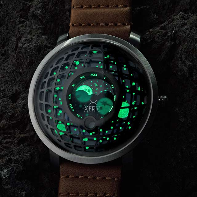 xeric trappist-1 moonphase lume shot