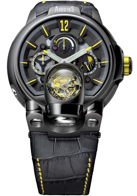 Best Automatic Watches >> Arbutus Tourbillon Gray Limited Edition | Watches.com