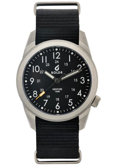 Boldr Venture Carbon Black Watches Com