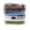 Above Ground Pool Magnet Wireless Power Pump Filter System 2