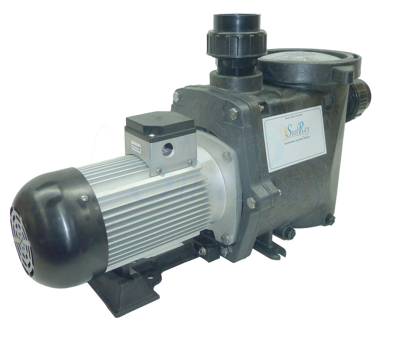 SunRay Solar Powered Commercial DC Pool Pump Systems