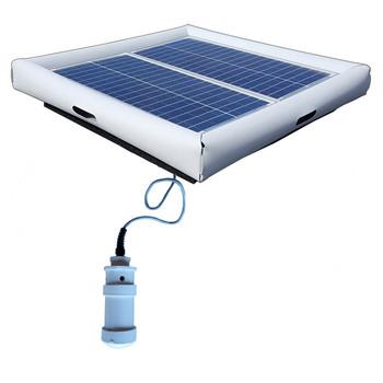 Savior Bromine System Pool Chemical Generator 60-watt Solar Powered 25000 Gallon