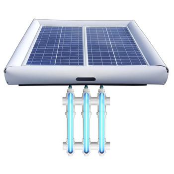 Savior UV Ultraviolet Pool Spa Sanitation Disinfection Systems 60-watt Solar Powered 20000 Gallon