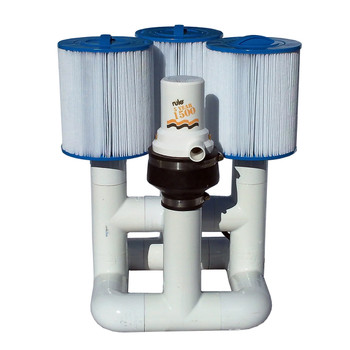 Bottom Feeder 15000 Gallon Pool Open Power (Solar Wind Other) 120-watt Pump and Filter System