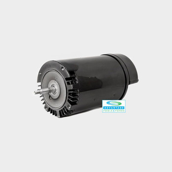 1 HP Threaded Shaft 56J Reman Motor