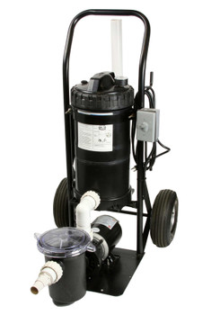 Mini Portable Fountain Vacuum System