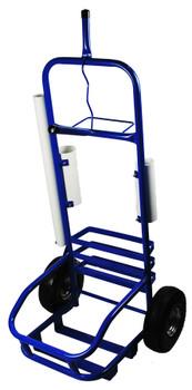 Blue Service Cart