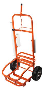 Orange Service Cart