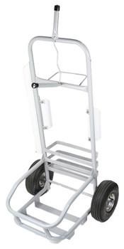 White Service Cart