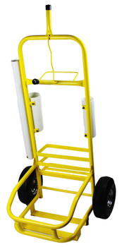 Yellow Service Cart