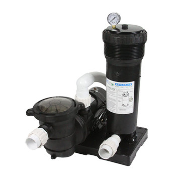 1 HP, 50 Sq Ft. Cartridge Filter System w/ Element