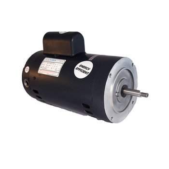 1 HP 56J Single Speed Threaded Shaft Motor