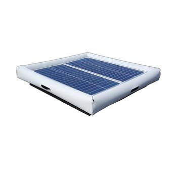 Savior Surface Pond Skimmer Solar Pond Cleaner 60-watts Solar Powered