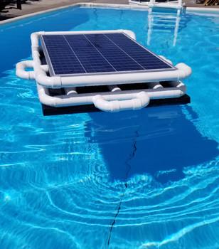 Savior 15000 Gallon Pool 120-watt Solar Pump and  Filter System Solar Pool Cleaner