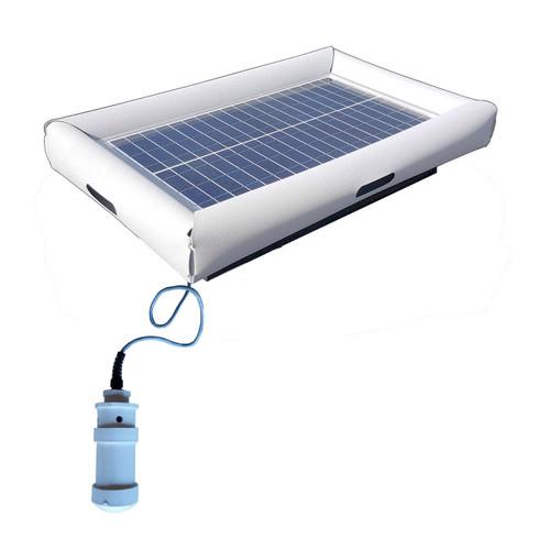 Savior Bromine System Pool Chemical Generator 30-watt Solar Powered 5000 Gallon