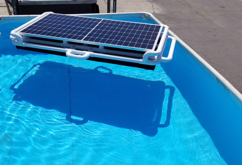 New Savior 250w Floating Solar Pool Pump and Filter Cleaner System OS