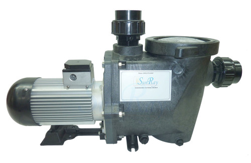 SunRay SolFlo4 Solar Variable Speed Pool Pump Sun Powered By SUNRAY - Made in the USA
