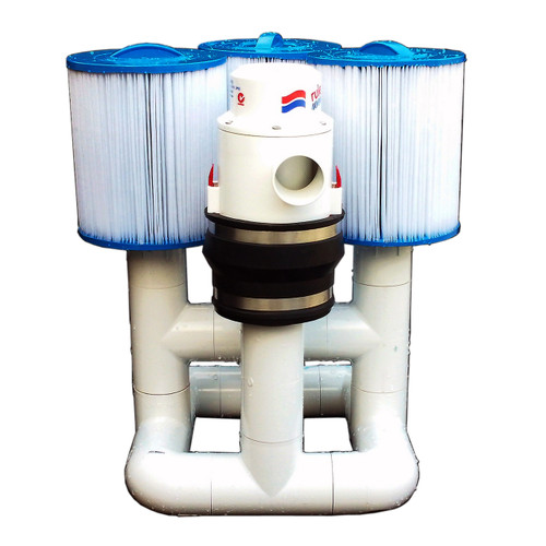 Bottom Feeder 40000 Gallon Pool Open Power (Solar Wind or Other) 220-watt Pump and Filter System