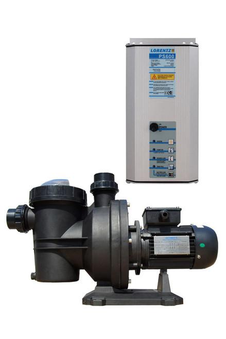 """Lorentz Solar Pool Pump PU600 CS-17-1, UL, ID 2"""" - Item # 10-005550"""