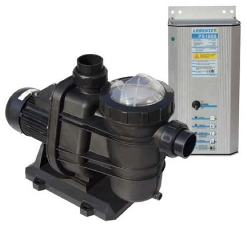 """Lorentz Solar Pool Pump PU1800 CS-37-1, UL, ID 3"""" - Item # 10-005590"""