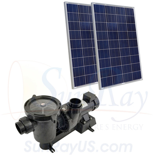 Puerto Rico SunRay SolFlo 0 Solar Powered Pool Pump-USPS shipping included in price