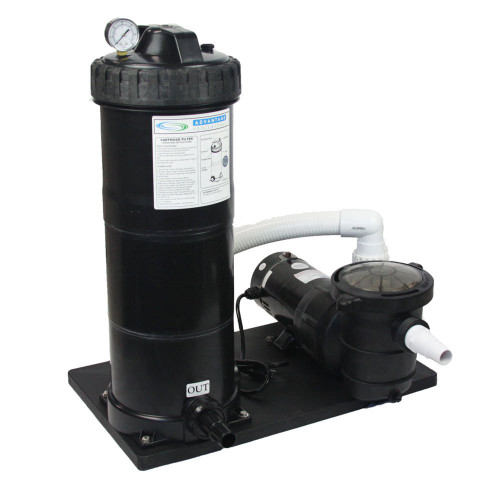 1.5 HP, 100 Sq. Ft. Cartridge Filter Systems w/ Element
