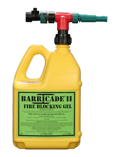Barricade Fire Gel Home Kit