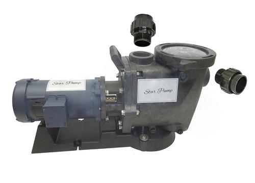 QuietFlo StarPump 2HP Brushless DC Motor - 160 GPM