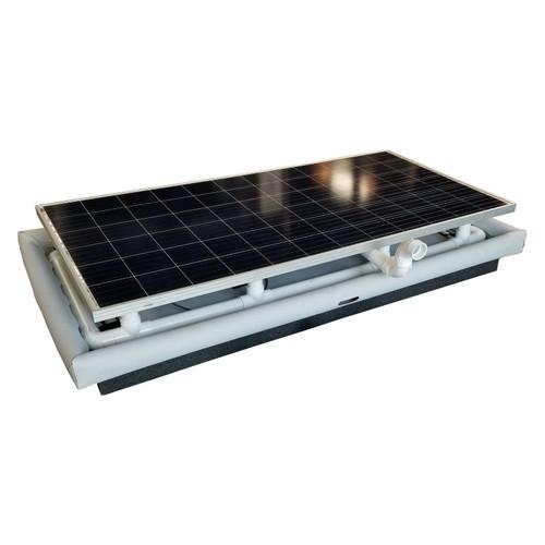Floating Solar Filter Pond Aerator Pump  6,000 GPH 50K GD 330w