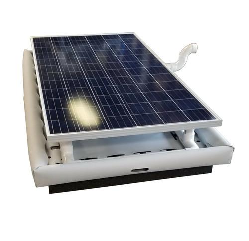 Floating Solar Filter Pool Pump  6,000 GPH 50K GD 330w