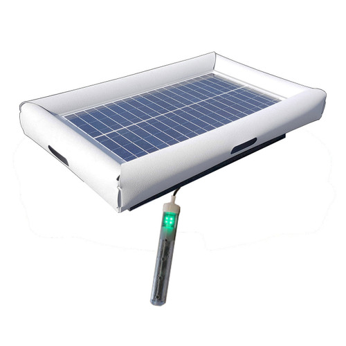 Savior Salt System Pool Chlorine Generator 30-watt Solar Powered 5000 Gallon