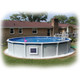 Above Ground Pool Magnet Wireless Power Pump Filter System 1