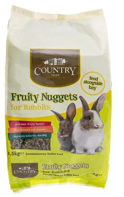 Fruity Mix Nuggets for Rabbits 1.5kg