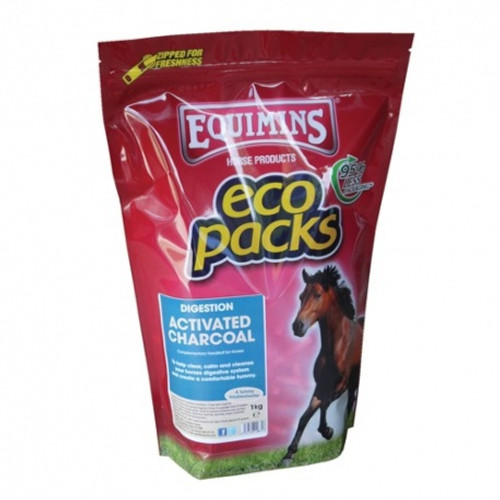 Equimins Activated Charcoal 1Kg Eco