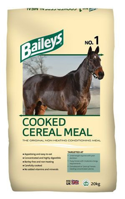 No.1 Cooked Cereal Meal 20kg