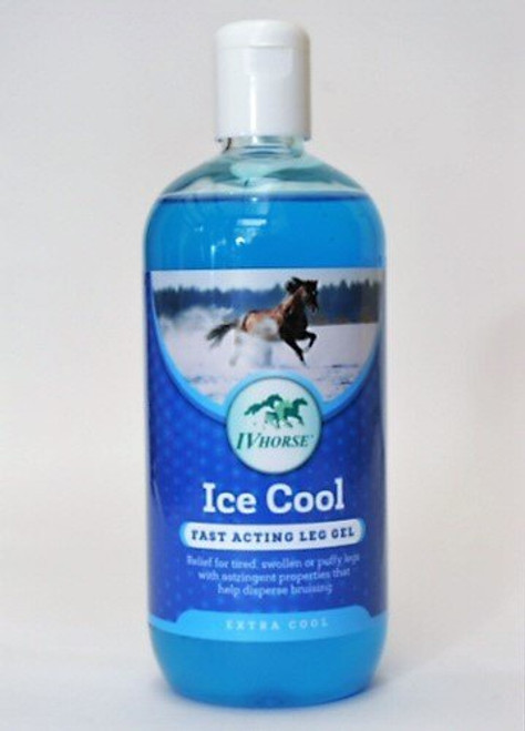 IV Horse Ice Cool Leg Gel 500ml