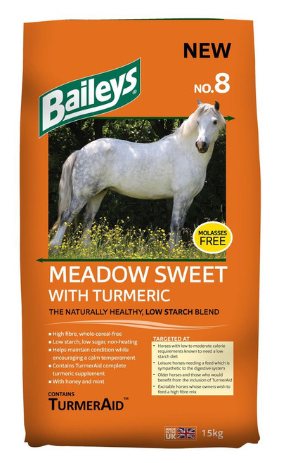 No.8 Meadow Sweet with Turmeric 15kg
